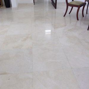Golden White 2 Golden White 24x24 marble tile Floor Design Pic