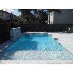 Ice-White-Sand-Blasted-French-Pattern-Paver-Outdoor-Floor-Jobside-Pic-2