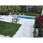 Ice-White-Sand-Blasted-French-Pattern-Paver-Outdoor-Floor-Jobside-Pic-5
