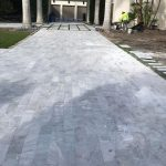 Ice-White-Tumbled-6×12-Paver-Outdoor-Driveway-Pic-13