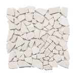 "French Vanilla 3""x6"" Subway Marble Mosaic 2 stoneline french vanilla pebble marble mosaic tile product pic"