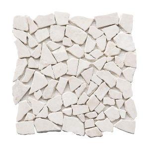 French Vanilla Pebble Marble Mosaic 4 stoneline french vanilla pebble marble mosaic tile product pic