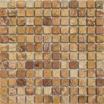 1×1-Autumn-Blend-Tumbled-Travertine-Mosaic