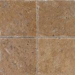 "Noce 4""x4"" Travertine Tile 1 4x4 Noce Premium Select Tumbled Travertine Tile"