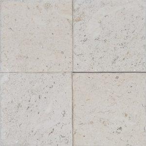 "Shell Beige 4""x4"" Limestone Tile 6 4x4 Shell Stone Premium Select Tumbled Limestone Tile"