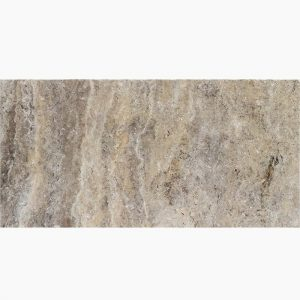 "Silver River 6""x12"" Travertine Paver 3 6x12 Silver River Premium Select Tumbled Travertine Paver"