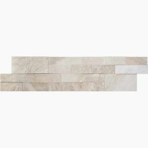 "Diana Royal 6""x24"" Ledger Panel 15 6x24 Diana Royal Premium Select Ledgestone Marble Panel"