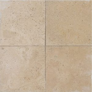"Ivory 6""x6"" Travertine Tile 3 6x6 Ivory Premium Select Tumbled Travertine Tile"