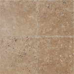 "Noce 6""x6"" Travertine Tile 2 6x6 Noce Premium Select Tumbled Travertine Tile"