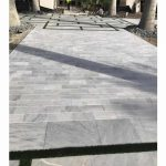 Ice-White-Tumbled-6×12-Paver-Outdoor-Driveway-Pic