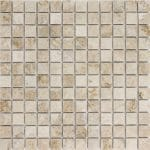 "Cappuccino 1""x1"" Marble Mosaic 2 1x1 Cappucino Marble Mosaic"