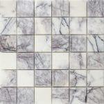 2×2-Lilac-White-Polished-Marble-Mosaic