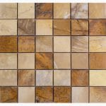 """Picasso 2""""x2"""" Marble Mosaic 1 2x2 Picasso Marble Mosaic"""