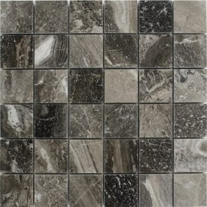 Other Marbles 10 2x2 Platinum Gray Marble Mosaic