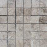 "Talya Gray 2""x2"" Marble Mosaic 1 2x2 Talya Gray Marble Mosaic"