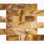 """Picasso 2""""x4"""" Marble Mosaic 2 2x4 Picasso Marble Mosaic"""