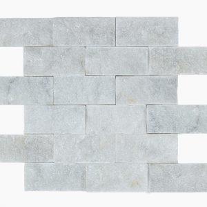 """White Pearl 2""""x4"""" Marble Mosaic 7 2x4 White Pearl Marble Mosaic"""