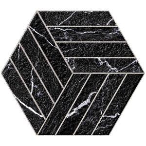 """Diamante Black 8""""x9"""" Porcelain Tile 12 Diamante Black 8x9 Devon porcelain tile"""