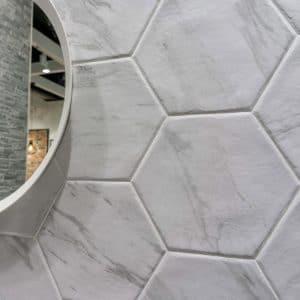 Diamante 10 Diamante Grey porcelain tile mixed project tile 2
