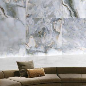 Eunoia 5 EUNOIA Azul porcelain rectified tile project pic