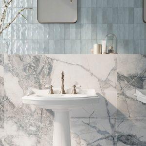 Eunoia 6 EUNOIA Brown porcelain rectified tile project pic