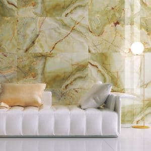 Eunoia 8 EUNOIA verde porcelain rectified tile project pic