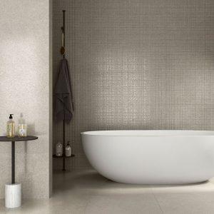 Soft 12 SOFT Gris Porcelain Rectified tile project pic