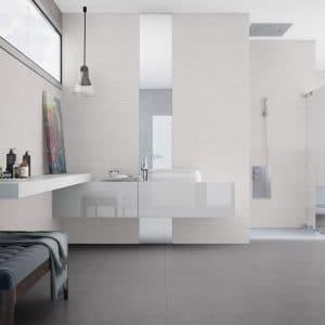 Sussana 6 Sussana White 12x36 Porcelain Rectified Tile Matte Project pic
