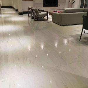 Thassos 5 Thassos Marble Tile Floor Indoor Design Jobside Pic