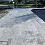 Tundra-Gray-12×24-Marble-Paver-Poolside-Closeby-Project-Pic
