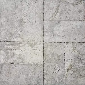 "Tundra Gray 6""x12"" Marble Paver 13 Tundra Gray Marble Paver 6x12 Product Pic"