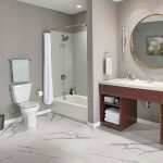 Venato-II-White-Porcelain-Rectified-Tile-Polished-Project-pic