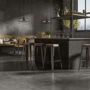Evo 12 evo coal 36x36 porcelain rectified tile project pic 2 1