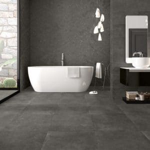 Evo 9 evo grey 36x36 porcelain rectified tile project pic 3