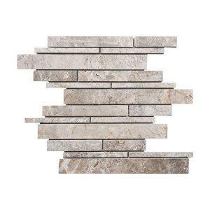 Tundra Gray Strip Bar Marble Mosaic 6 stoneline tundra grey strip bar marble mosaic tile5