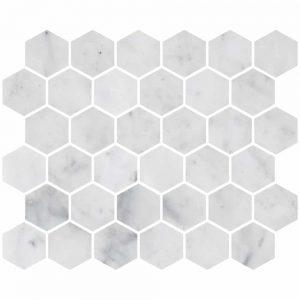 Bianco Carrara Hexagon Marble Mosaic 11 bianco carrara hexagon marble mosaic