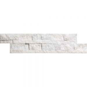 White Carrara Splitface Ledger Panel 23 white carrara 6x24 splitface ledger