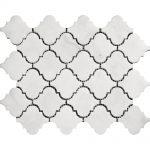 White Carrara Arabesque Marble Mosaic 2 white carrara arabesque marble mosaic