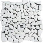 white-carrara-pebble-marble-mosaic