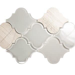 Clover Grigio Mix Mosaic 7 clover grigio mix mosaic