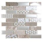 Core Silver Glass Mosaic 1 core silver glass mosaic