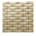 Diamond Crema Marfil Marble Mosaic 1 diamond crema marfil marble mosaic