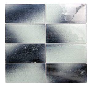 "Extant Sky 3""X6"" Glass Mosaic 19 extant sky 3x6 glass mosaic"